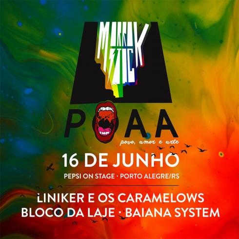 Festival Morrostock POAA - Povo, Amor e Arte